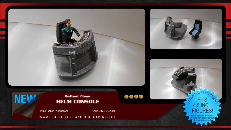 Defiant Class Helm Console