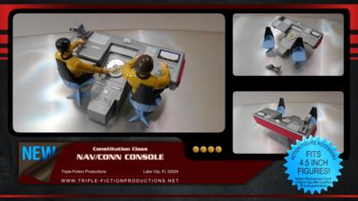 Constitution Class Nav/Conn Console
