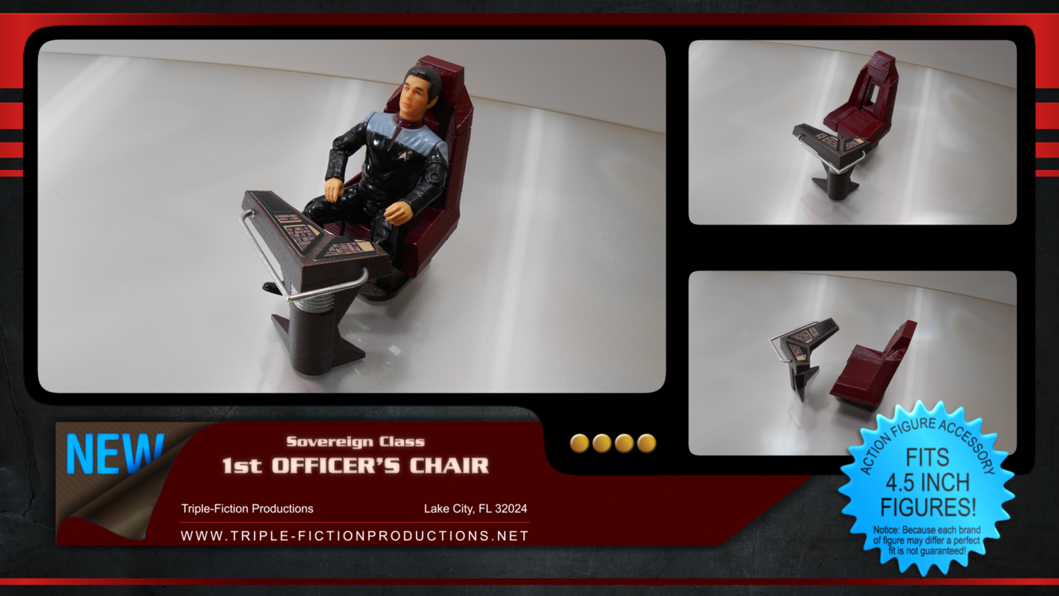 Sovereign Class First Officer's Chair