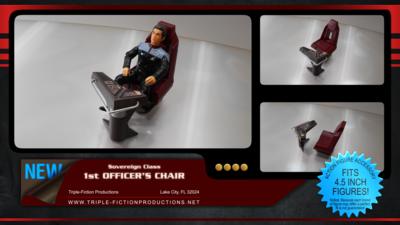 Sovereign Class First Officer's Chair