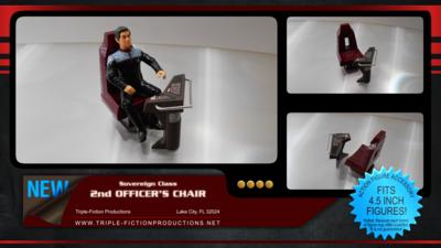 Sovereign Class Second Officer's Chair