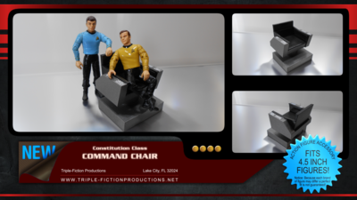 Constitution Class Command Chair