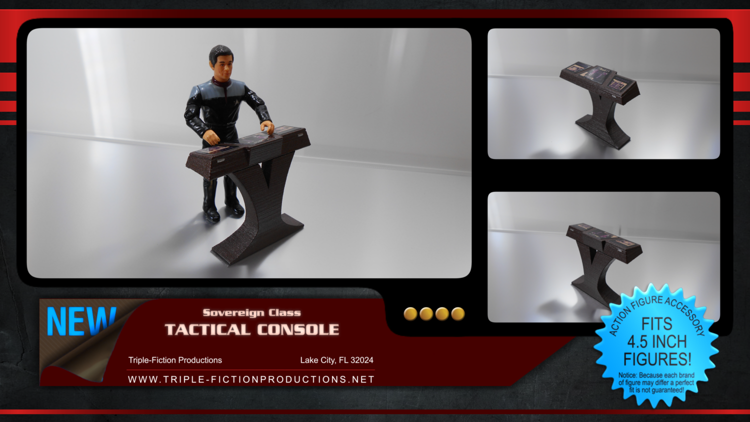 Sovereign Class Tactical Console