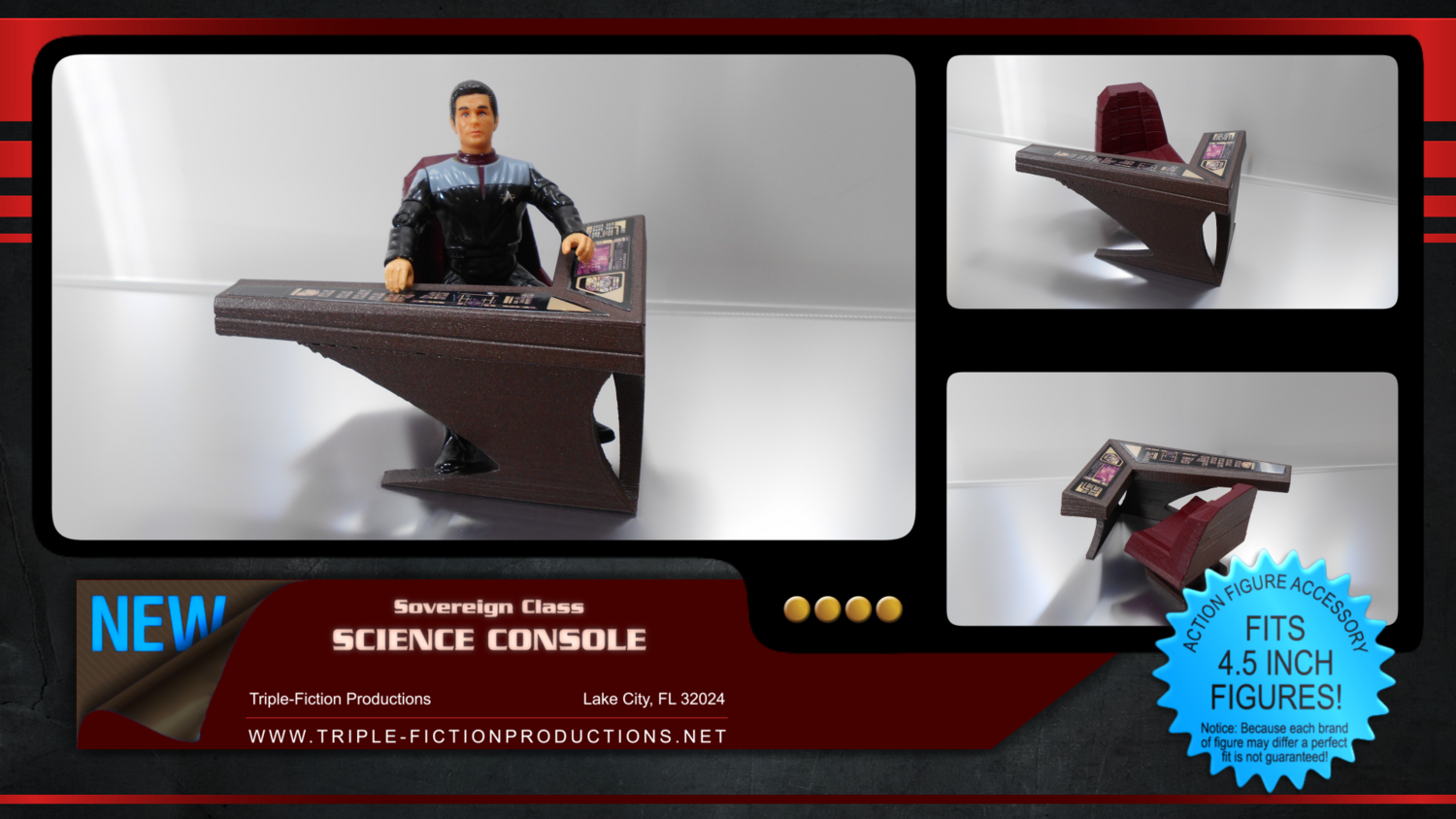 Sovereign Class Science Console