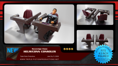 Sovereign Class Helm/Conn Consoles