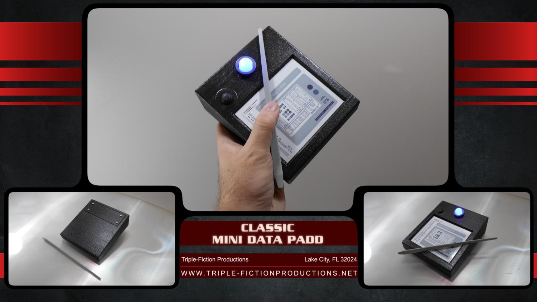 Classic Mini Data Padd