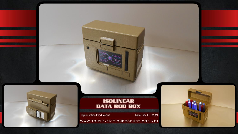 Isolinear Data Rod Box