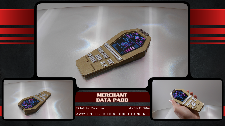 Merchant Data Padd