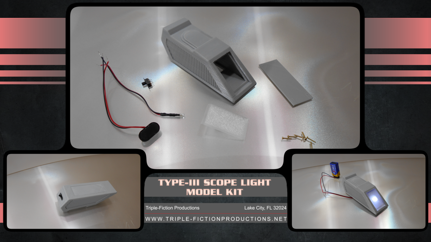 Model Kit: Type-III Scope Light