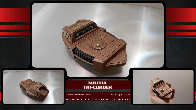 Militia Tri-Corder