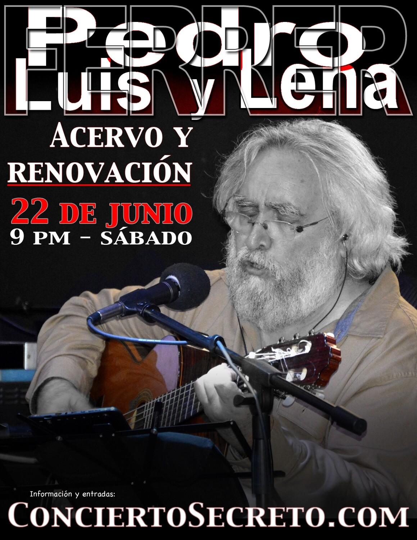 """Pedro Luis y Lena Ferrer: """"Acervo y renovación"""" - Sábado, 22 de junio. 9:00 PM"""