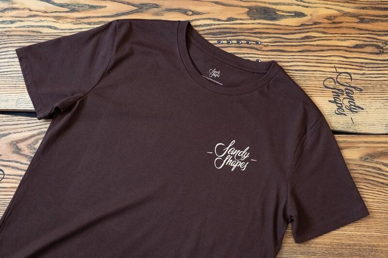 T-shirt Sandy Shapes , chocolate
