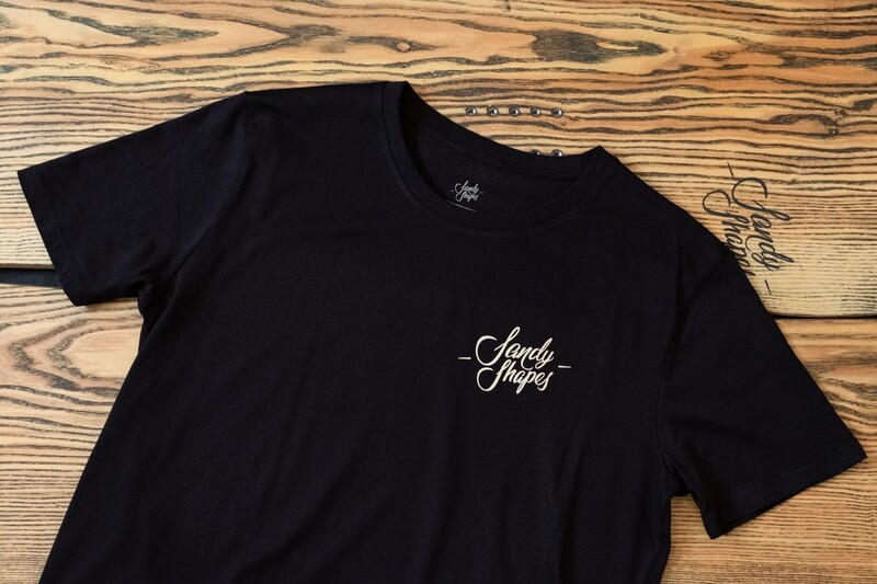 T-shirt Sandy Shapes , nero