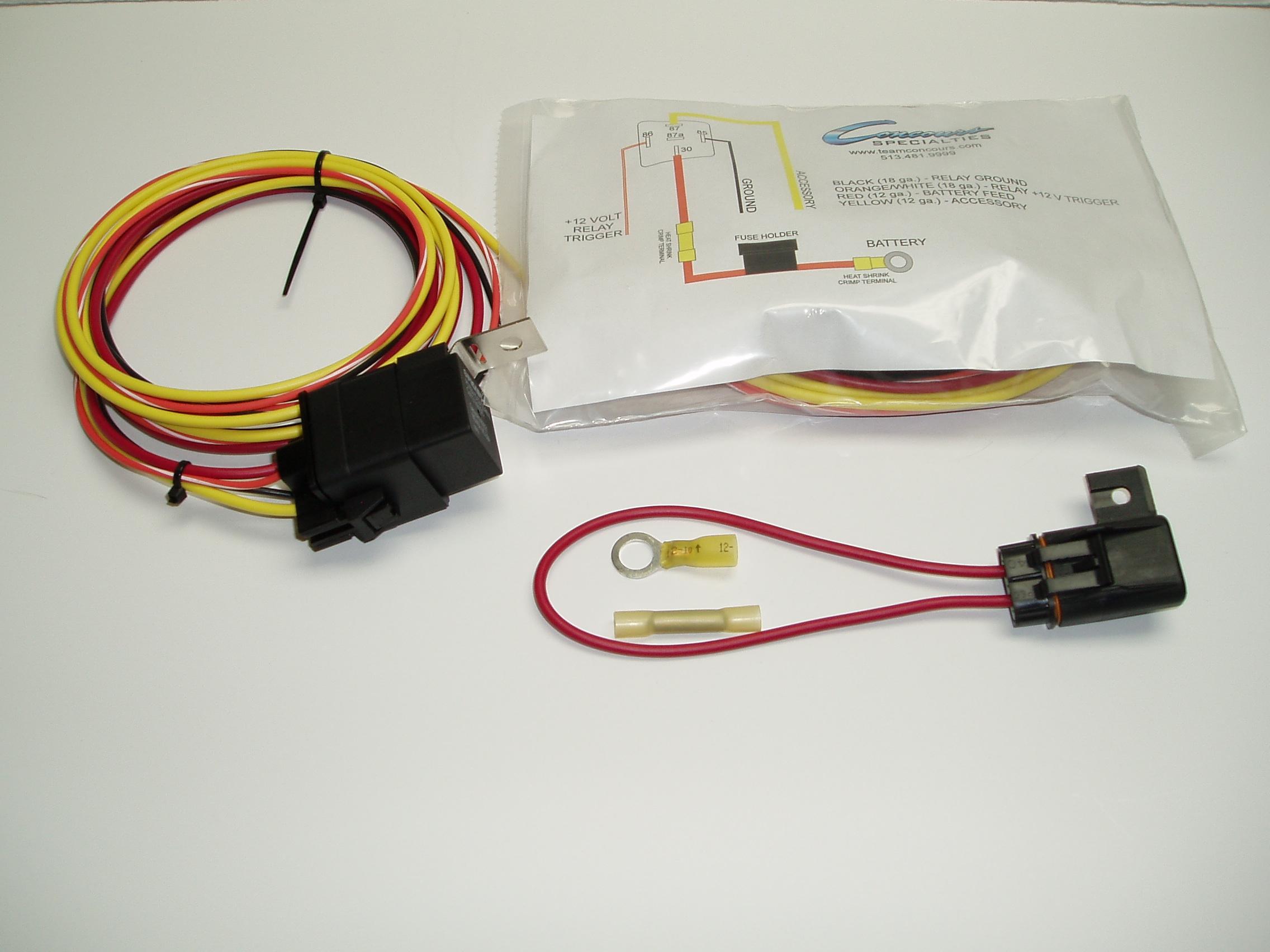 Waterproof Relay Kit Relays Concours Specialties Custom Switch Ground Terminal