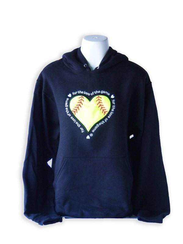 Softball Hooded Sweatshirt