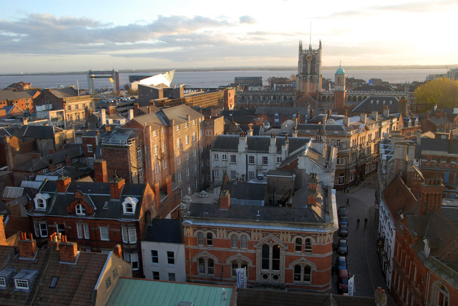 """Paul Schofield - """"A Journey Through Hull's Old Town"""" ev160919"""