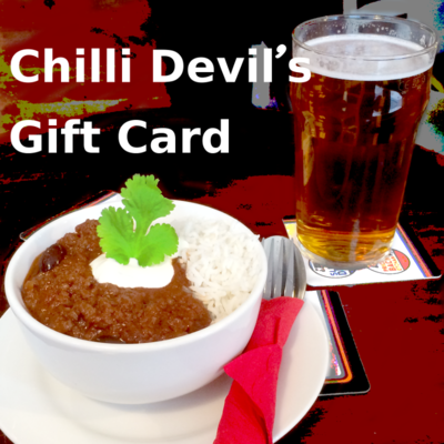 Chilli Devil's Gift Card