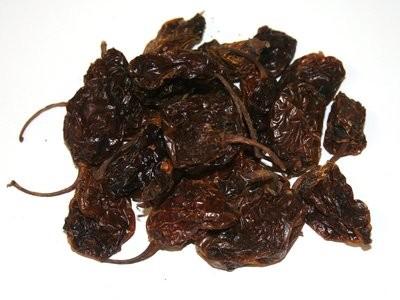 Habanero chillies