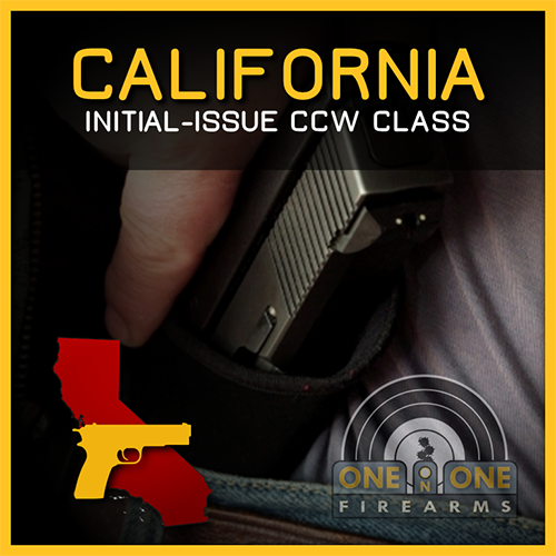 CA CCW INITIAL-ISSUE 2-DAY GROUP CLASS | AUGUST 25 & 26, 2018 00515