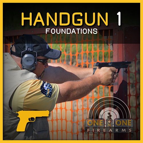 LEVEL 1, HANDGUN FOUNDATIONS / SEPT 8  2018,  RANGE 2-1 00500