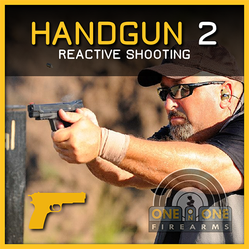 HANDGUN 2, REACTIVE SHOOTING , JAN 26, 2019 RANGE 5-B 00562