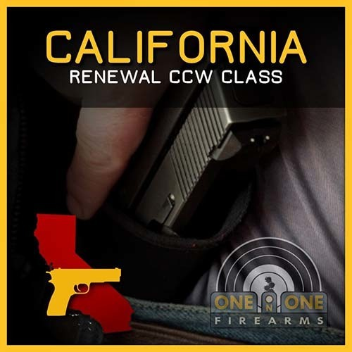 CA CCW RENEWAL CLASS | APRIL 28TH 2019  - RANGE 5-B