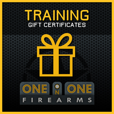 TRAINING GIFT CERTIFICATES $125