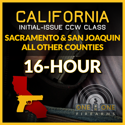 CA CCW INITIAL-ISSUE 2-DAY GROUP CLASS | APRIL 28 & 29, 2018 00430