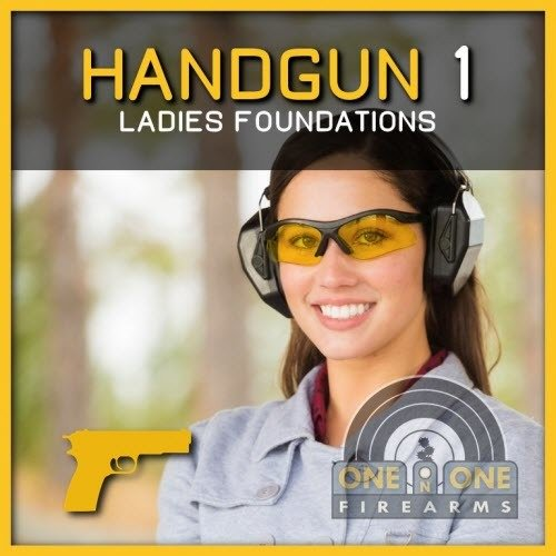 [LADIES ONLY] LEVEL 1, HANDGUN FOUNDATIONS / JULY 28  2018,  RANGE 2-1 00546
