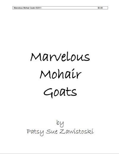 Marvelous Mohair & Goats