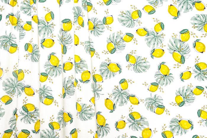 Lemon Print Viscose