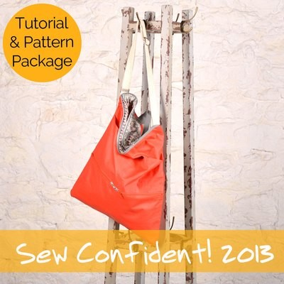Sew Confident! Year 2 (2013) Tutorial + Pattern Package SCP203