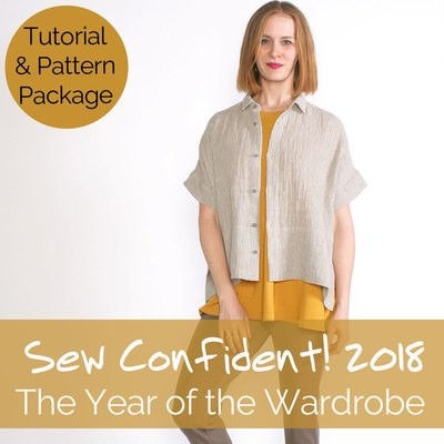 Sew Confident! Year 7 (2018) Tutorials + Pattern Package SCPP18