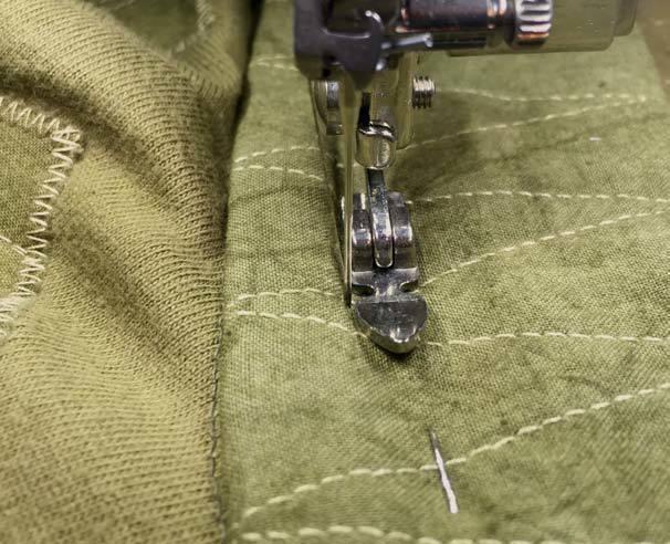 Stitching Detail