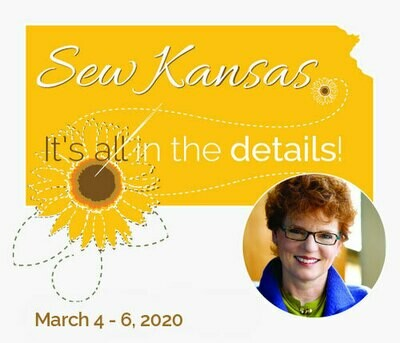 Sew Kansas - March 4 - 6, 2020 (Balance Only) SK0320