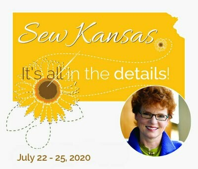 Sew Kansas - July 22 - 25, 2020 (Deposit Only) Sk0720