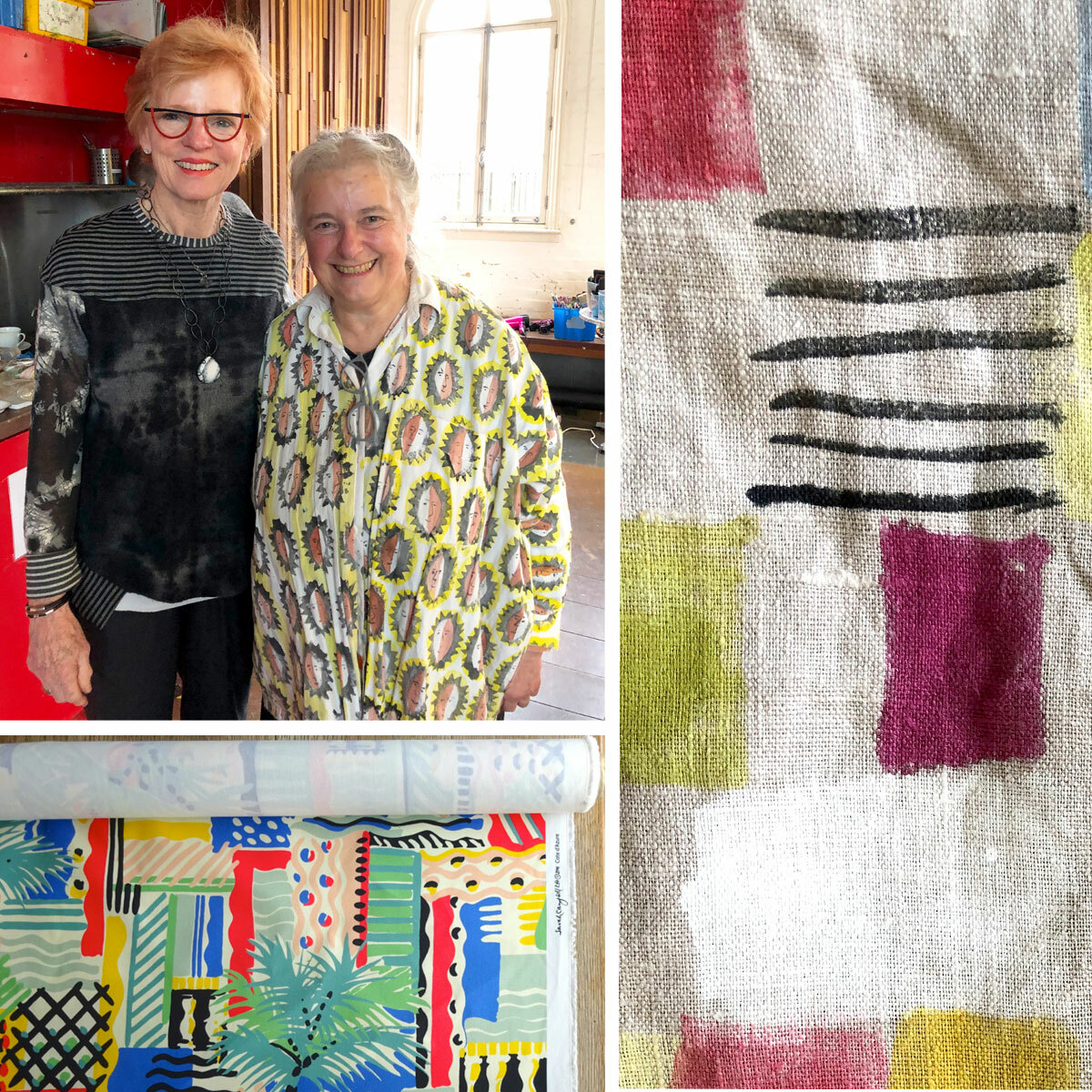 Sarah Campbell Fabric Painting Workshop (Deposit Only)
