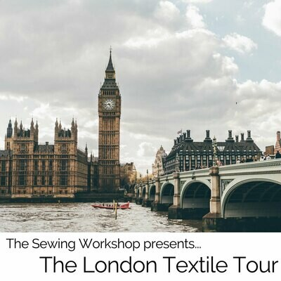 Sewing Workshop London Textile Tour 041420