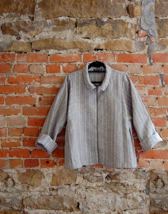 Linen Stripe Quincy