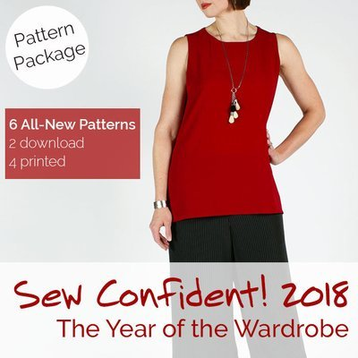 Sew Confident! Pattern Package Year 7 (2018) SCPP18