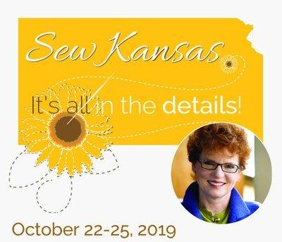 Sew Kansas - October 22 - 25, 2019 (Balance Only) SK1019