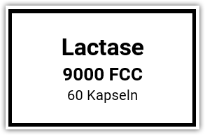 Lactase Enzym 9000 FCC ALU 60 Kaps.