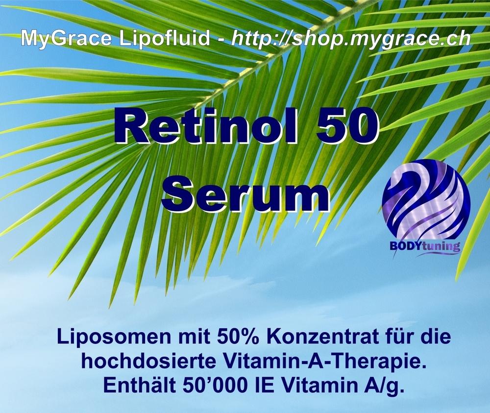 MYGRACE Retinol 50 Liposomenserum 50'000IE Vit.A/g 50 ml
