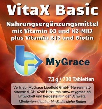 MYGRACE VitaX Basic 730 Stk.