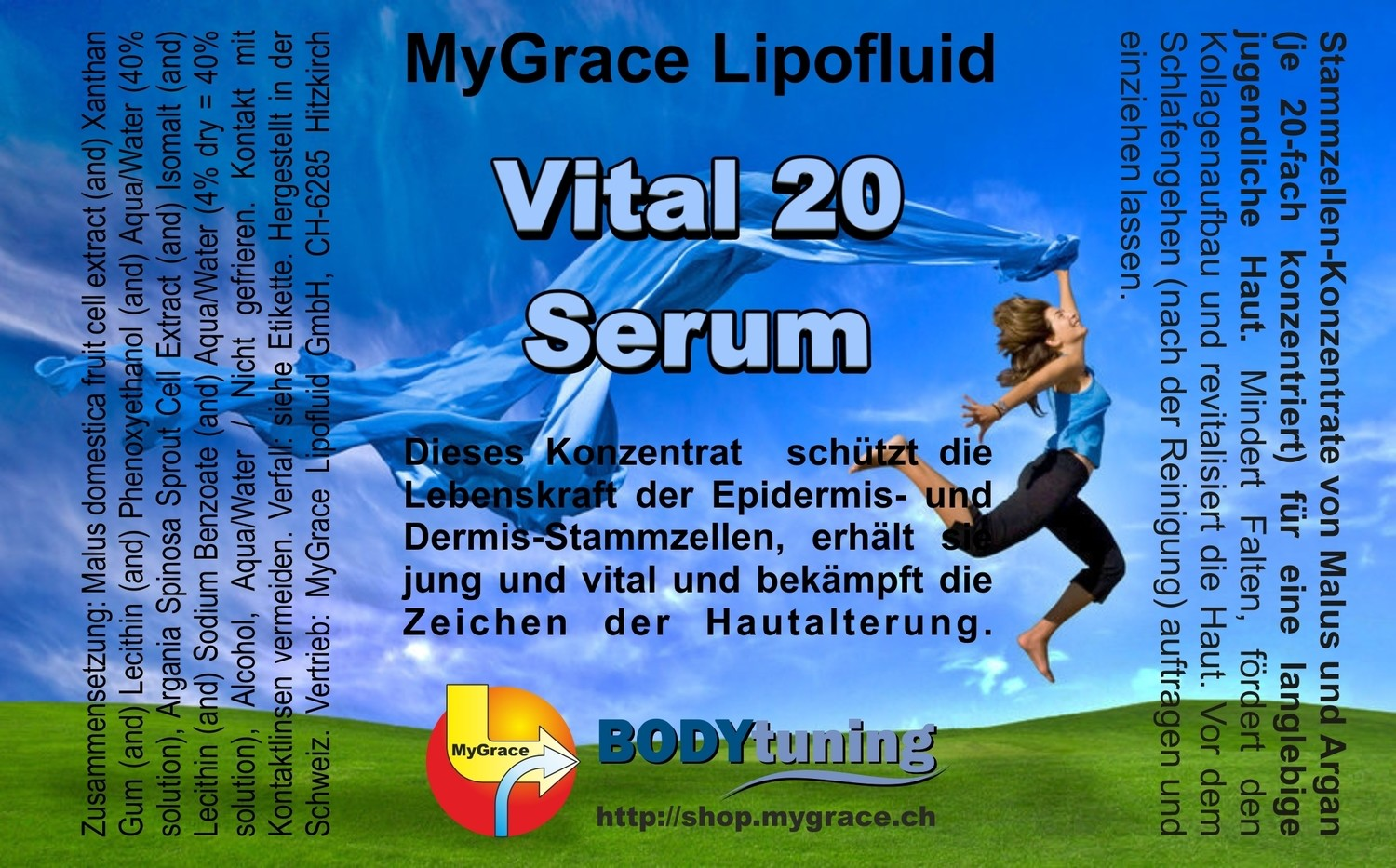 MYGRACE Vital 20 Serum 50 ml