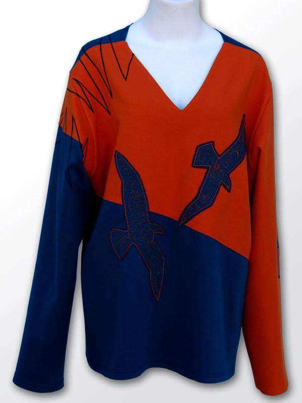 SPRINGTIME Birds - Sweater