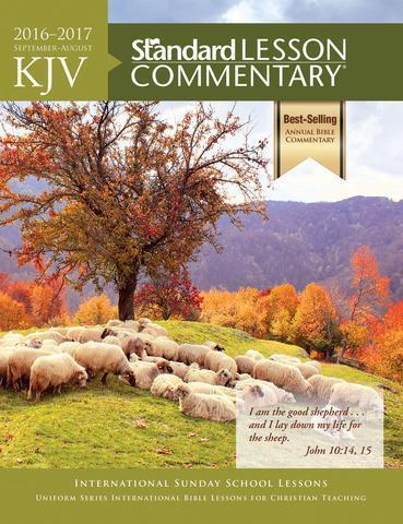 2018-2019 Standard Lesson Commentary NIV Regular Print