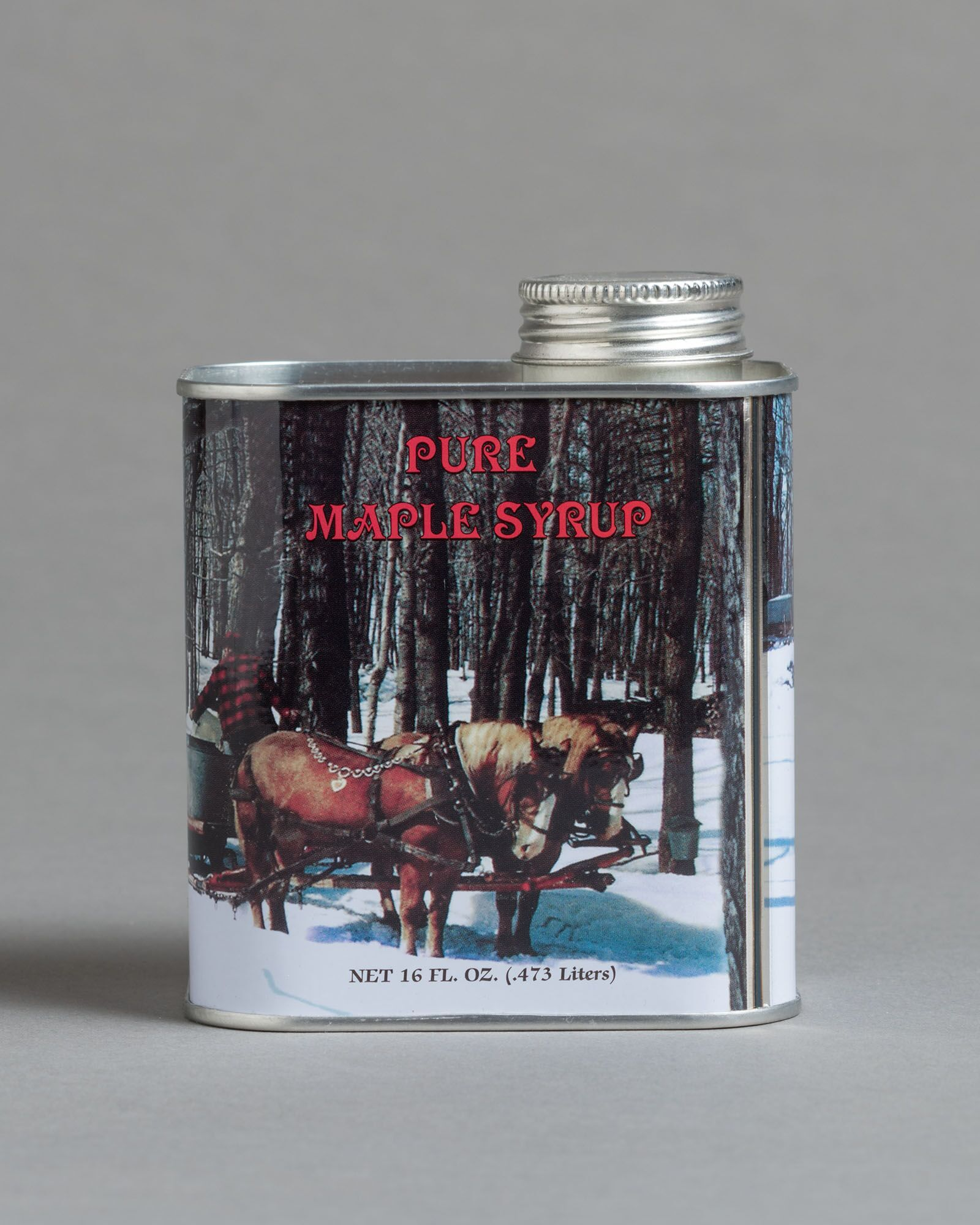 Maple Syrup Metal Can, 1 pint 00033