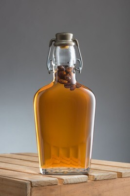 Coffee-Infused Maple Syrup