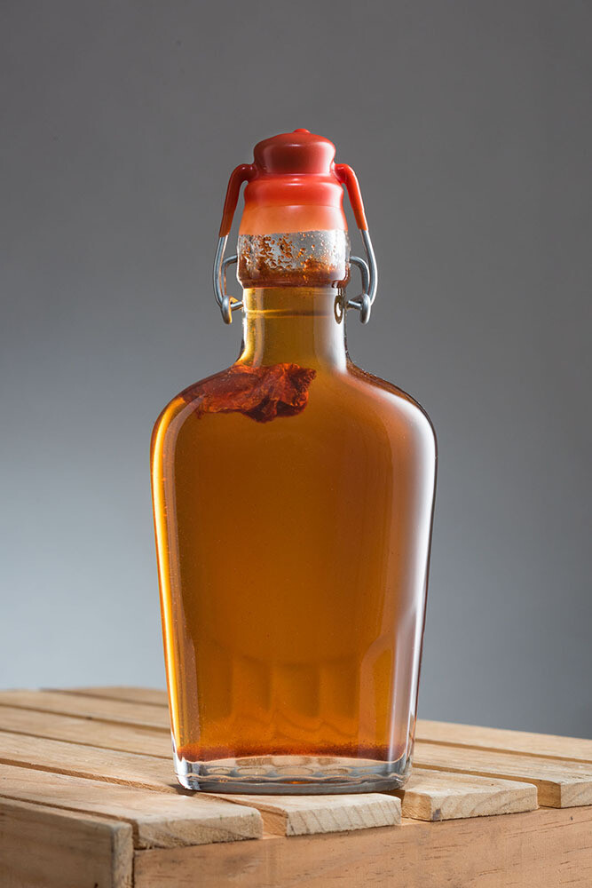 Habanero-Infused Maple Syrup